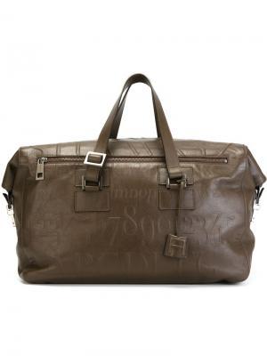 Дорожная сумка Didot Assouline. Цвет: коричневый