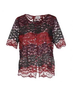 Блузка BELAIR. Цвет: красно-коричневый