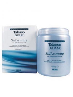 Линия TALASSO Соль для ванны 1000 г GUAM. Цвет: белый
