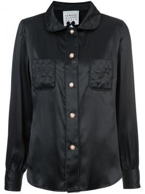 Классическая рубашка Edward Achour Paris. Цвет: чёрный