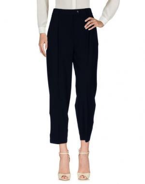 Повседневные брюки CIVIDINI. Цвет: темно-синий