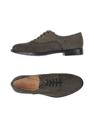 Обувь на шнурках FIORANGELO. Цвет: черный