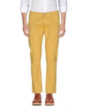 Повседневные брюки EXCLUSIVE. Цвет: охра