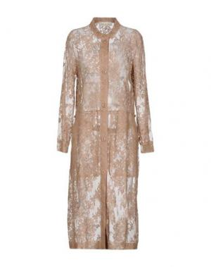 Легкое пальто SOHO DE LUXE. Цвет: песочный