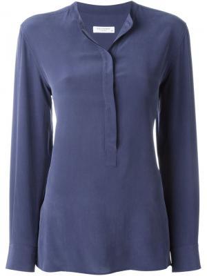 Блузка Arya Equipment. Цвет: синий