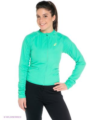 Куртка Athlete Track Jacket ASICS. Цвет: зеленый