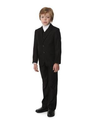 Костюм для мальчика HERDAL. Цвет: черный