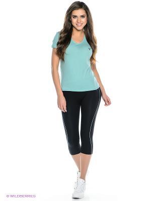 Комплект брюки WR.UP SHAPING EFFECT, футболка Freddy. Цвет: светло-зеленый, черный