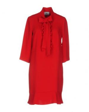 Короткое платье PIU' &. Цвет: красный