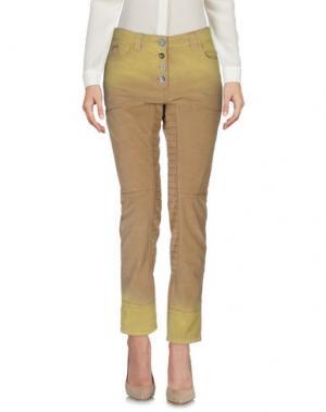 Повседневные брюки DANIELA DALLA VALLE ELISA CAVALETTI. Цвет: песочный