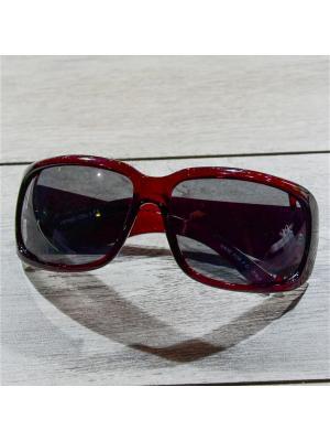 Очки MACAR. Цвет: бордовый