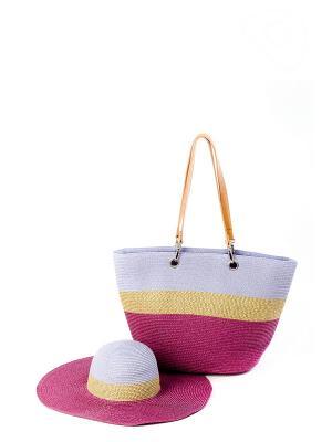 Комплект Moltini. Цвет: фиолетовый