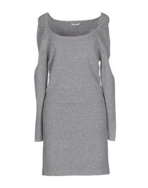 Короткое платье BY ZOÉ. Цвет: светло-серый