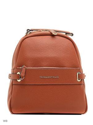 Рюкзак Trussardi. Цвет: оранжевый