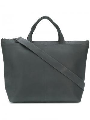 Маленькая сумка-тоут Isaac Reina. Цвет: серый