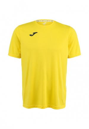 Футболка спортивная Joma. Цвет: желтый