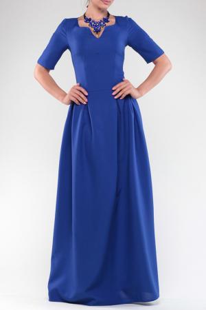 Платье Dioni. Цвет: синий