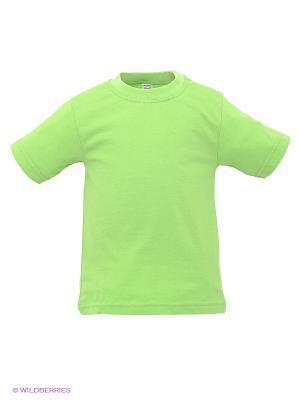 Футболка Хох. Цвет: зеленый