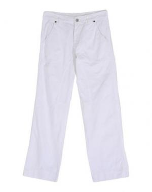 Повседневные брюки EDDIE PEN. Цвет: белый