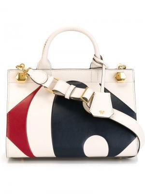 Средняя сумка на плечо Anya Hindmarch. Цвет: белый