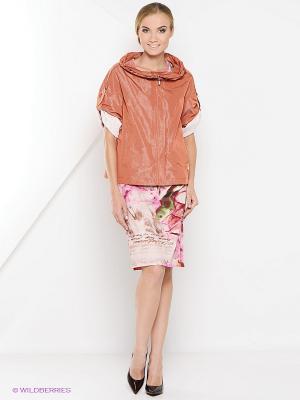Куртка Socrat. Цвет: коралловый