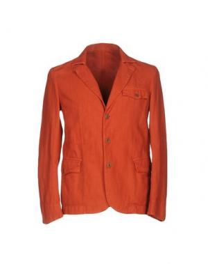 Пиджак MONTEDORO. Цвет: оранжевый