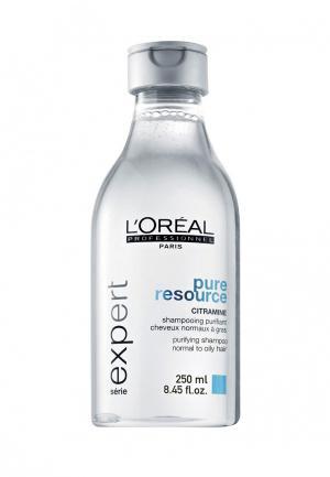 Шампунь для нормальных и склонных к жирности волос LOreal Professional L'Oreal. Цвет: белый