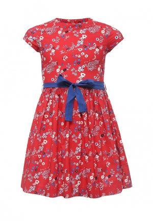 Платье Petit Bateau. Цвет: красный