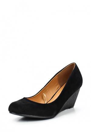 Туфли Topway. Цвет: черный