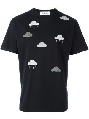 Футболка Cloud Jimi Roos. Цвет: чёрный
