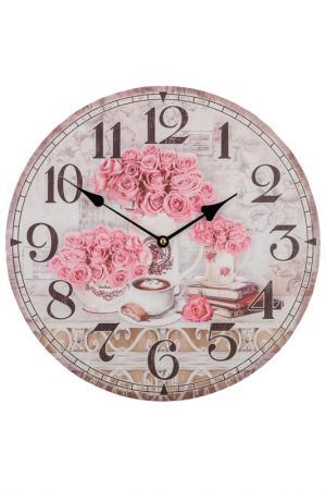 Часы настенные EDG. Цвет: мультиколор
