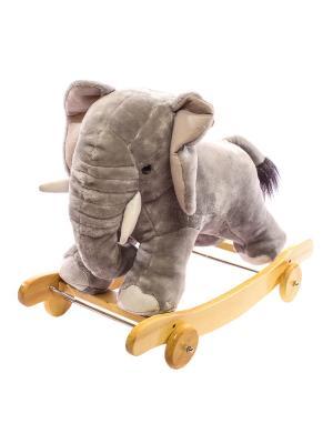 Слон-качалка Toyland. Цвет: серый