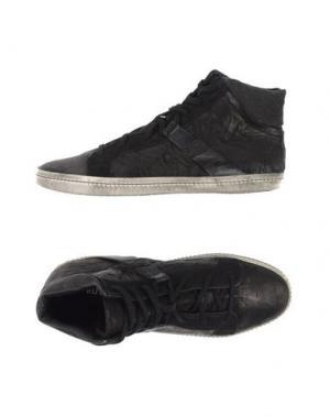 Высокие кеды и кроссовки RUTZOU. Цвет: черный
