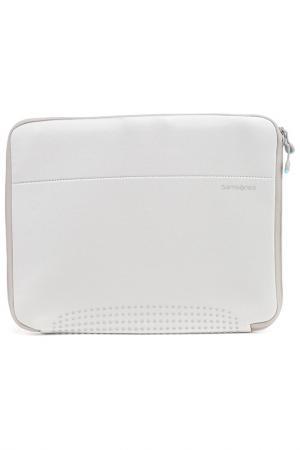 Компьютерная сумка Samsonite. Цвет: серебристый