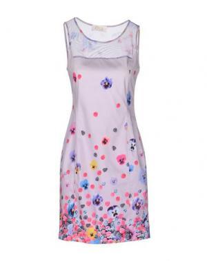 Короткое платье EAN 13. Цвет: сиреневый