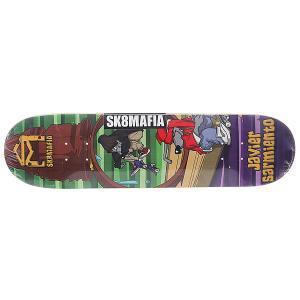 Дека для скейтборда  Sarmiento Sk8rats Multi 31.75 x Sk8mafia. Цвет: мультиколор