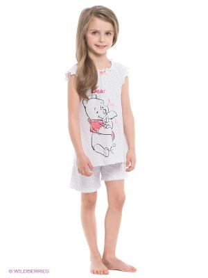 Пижама PlayToday. Цвет: белый, серый