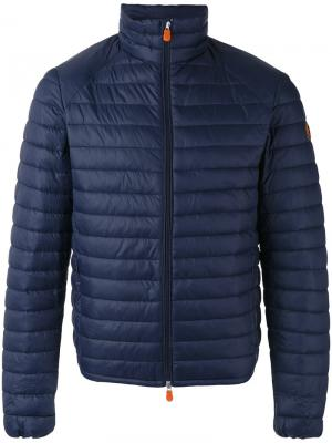 Lightweight padded jacket Save The Duck. Цвет: синий