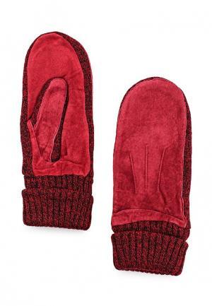 Варежки Modo Gru. Цвет: красный