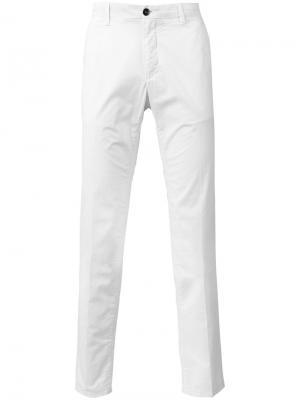 Классические брюки чинос CP Company. Цвет: белый