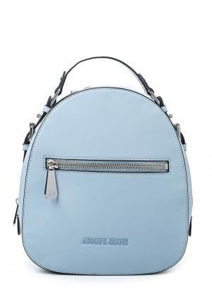 Рюкзак Armani Jeans. Цвет: голубой