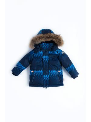 Куртка NELS. Цвет: темно-синий