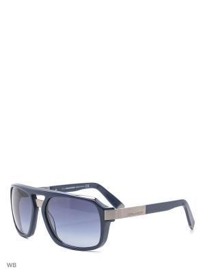 Солнцезащитные очки DQ 0028 90W Dsquared2. Цвет: синий, серебристый