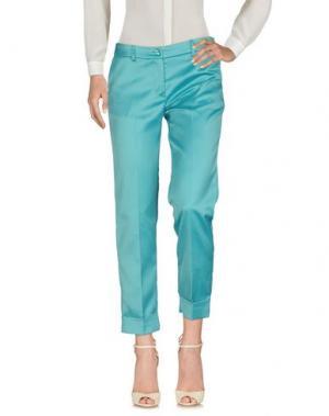 Повседневные брюки KARTIKA. Цвет: бирюзовый