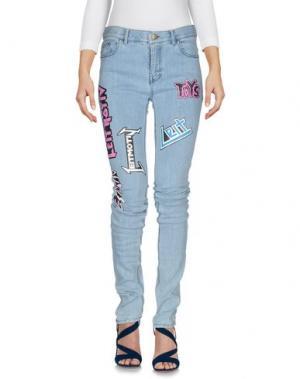 Джинсовые брюки LEITMOTIV. Цвет: синий