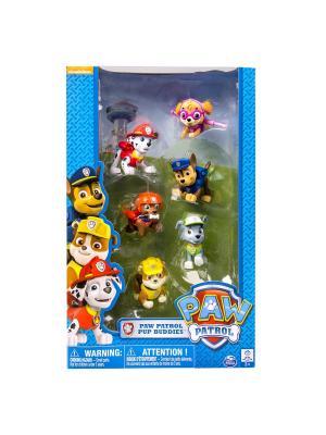 Игрушка Paw Patrol набор из 6 фигурок SPIN MASTER. Цвет: синий