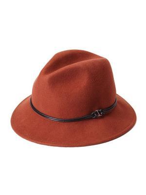 Шляпа Goorin Brothers. Цвет: оранжевый