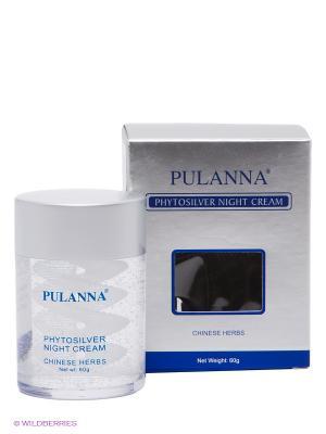 Ночной крем Phytosilver Night Cream PULANNA. Цвет: прозрачный