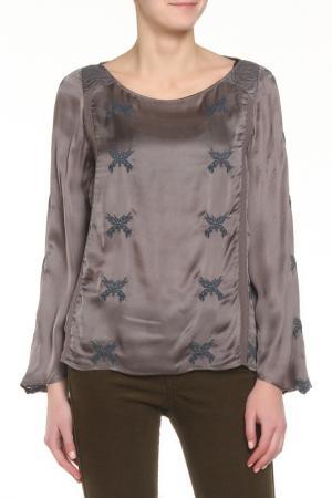 Блузка Zadig&Voltaire. Цвет: антрацитовый