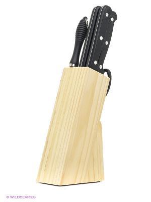Комплект ножей Bekker. Цвет: бежевый, черный